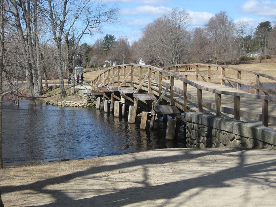 Old North Bridge, Battle at Concord