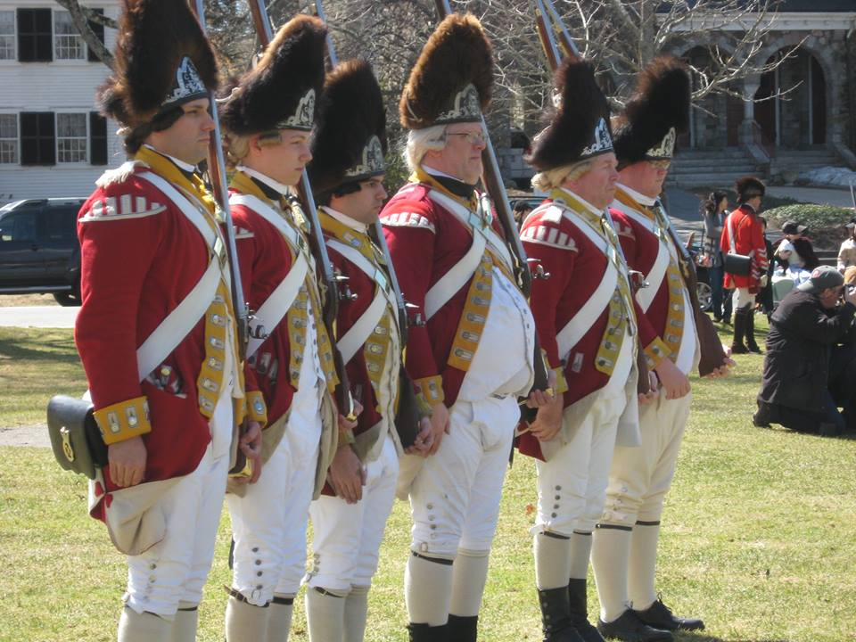 British Grenadiers, Lexington
