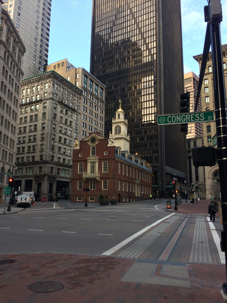 Built in 1713, the Old State House continues to be a symbol of freedom.